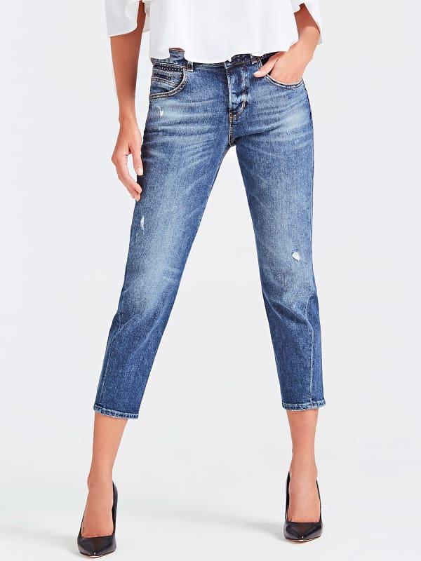 GUESS Jeans Used-Optik Abriebstellen