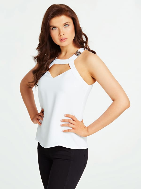 GUESS Top Cut Out Vorn