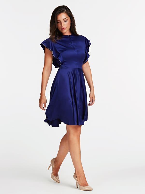 Kleid Flügelärmel   Bekleidung > Kleider   Guess
