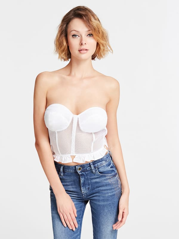 GUESS Crop-Korsett-Top