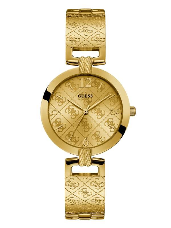 Analog-Armbanduhr 4G Luxe | Uhren | Edelstahl | Guess