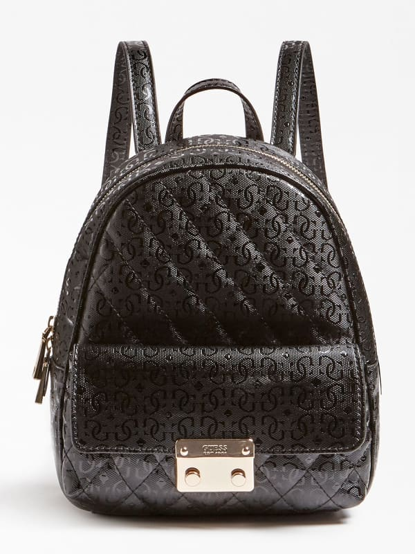 Guess Backpack Leeza Logoprint HWQE4557310 BRO