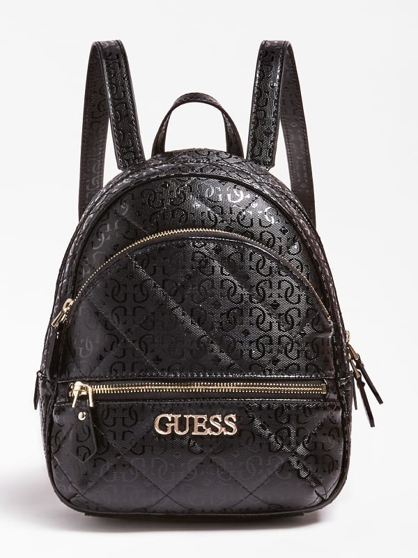 Guess Wilona Logo Quilted Look Backpack | ricciano UNITED