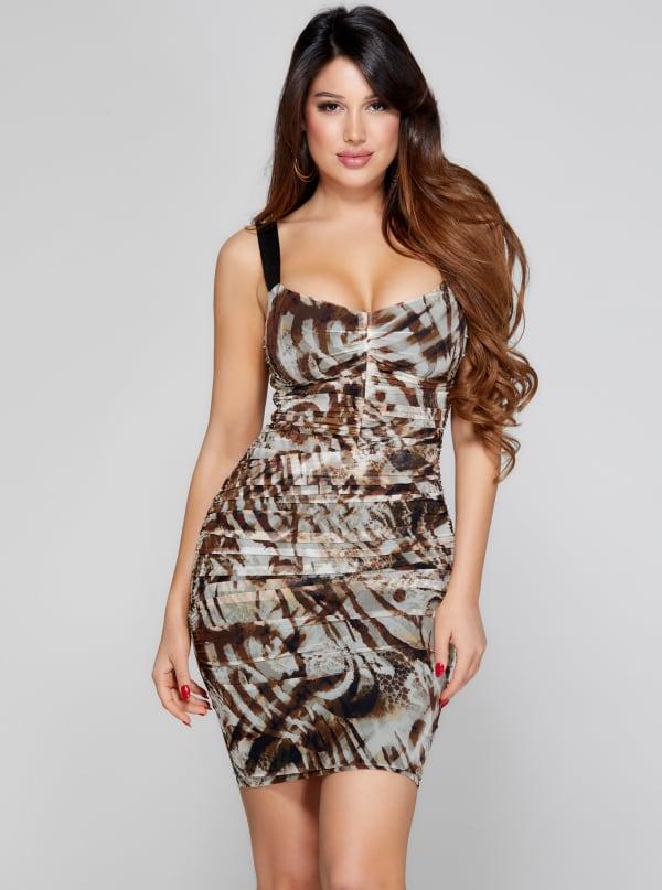 Sandscape Mesh Dress