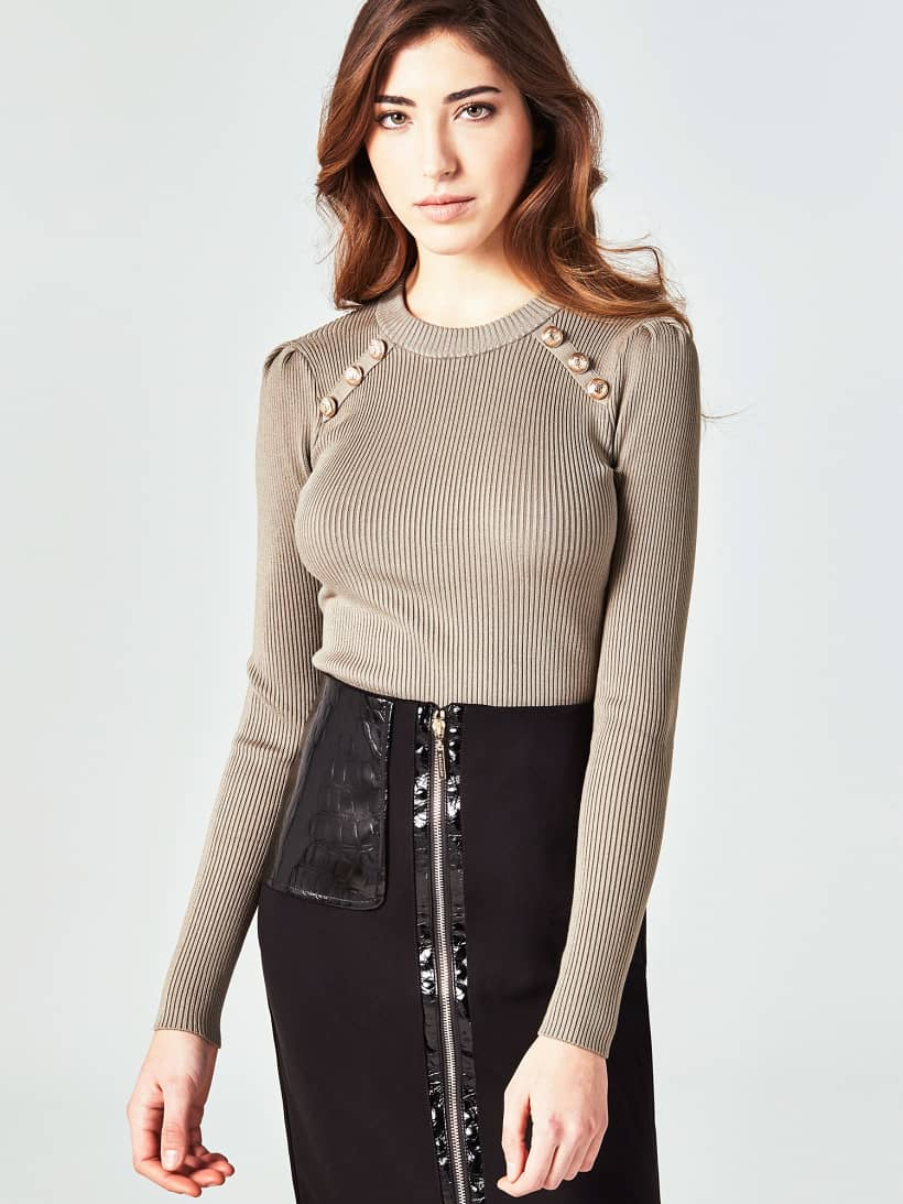 PULL MARCIANO BOUTONS | GUESS.eu
