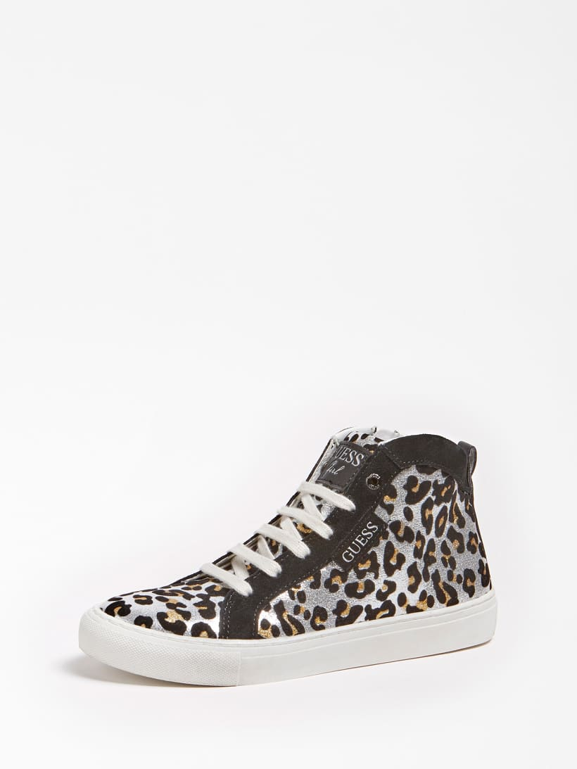LUCY LAMINATED HIGH TOP SNEAKER (35 38)