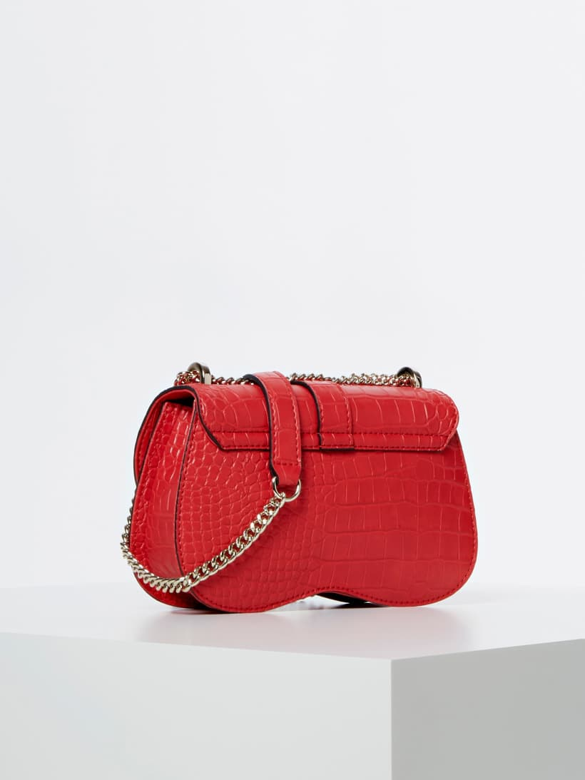 Guess Handtasche ASHER HWCG7477780 RED