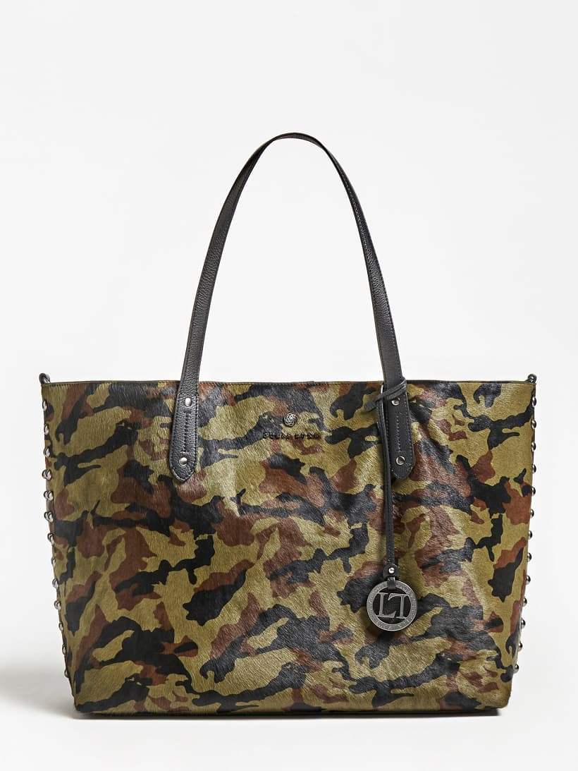 Shopping bag Guess GIA in pelle