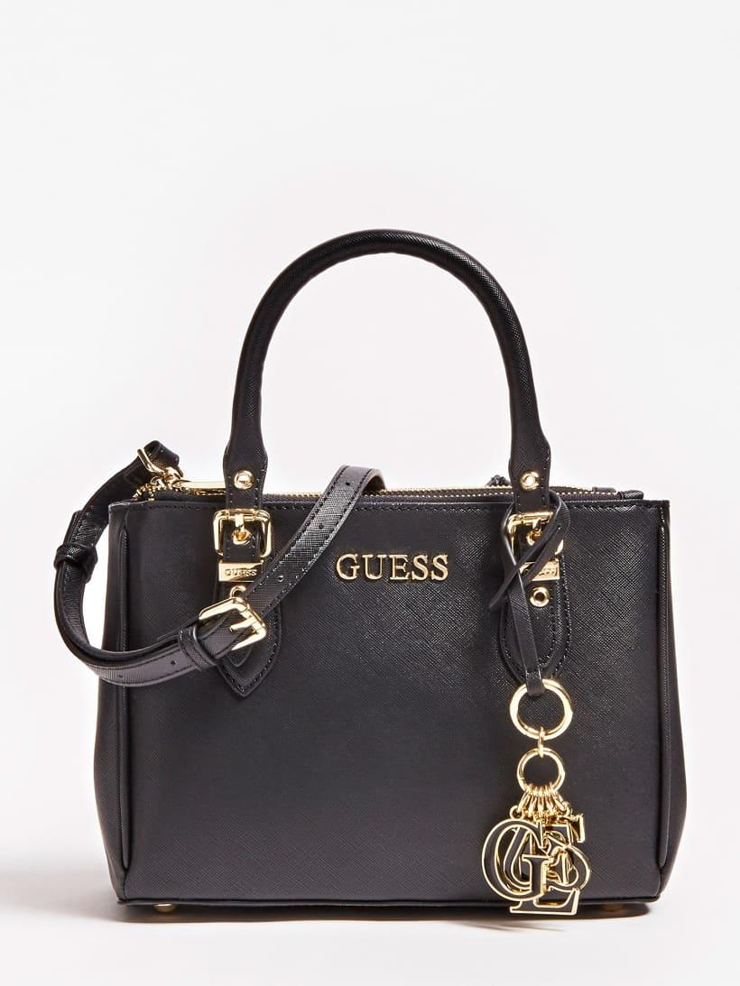 GUESS Tasche 'New Gracie' schwarz