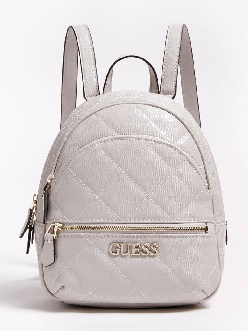 WILONA LOGO QUILTED LOOK BACKPACK