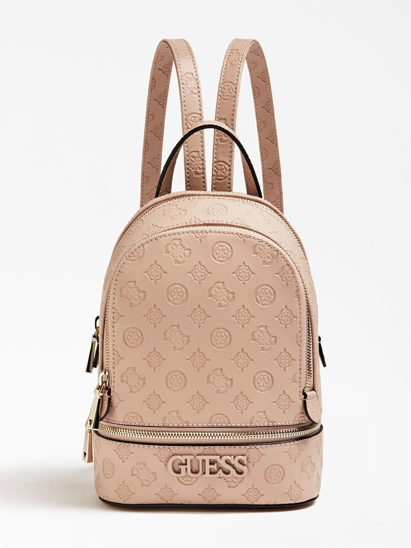 Guess Skye Logo Print Backpack