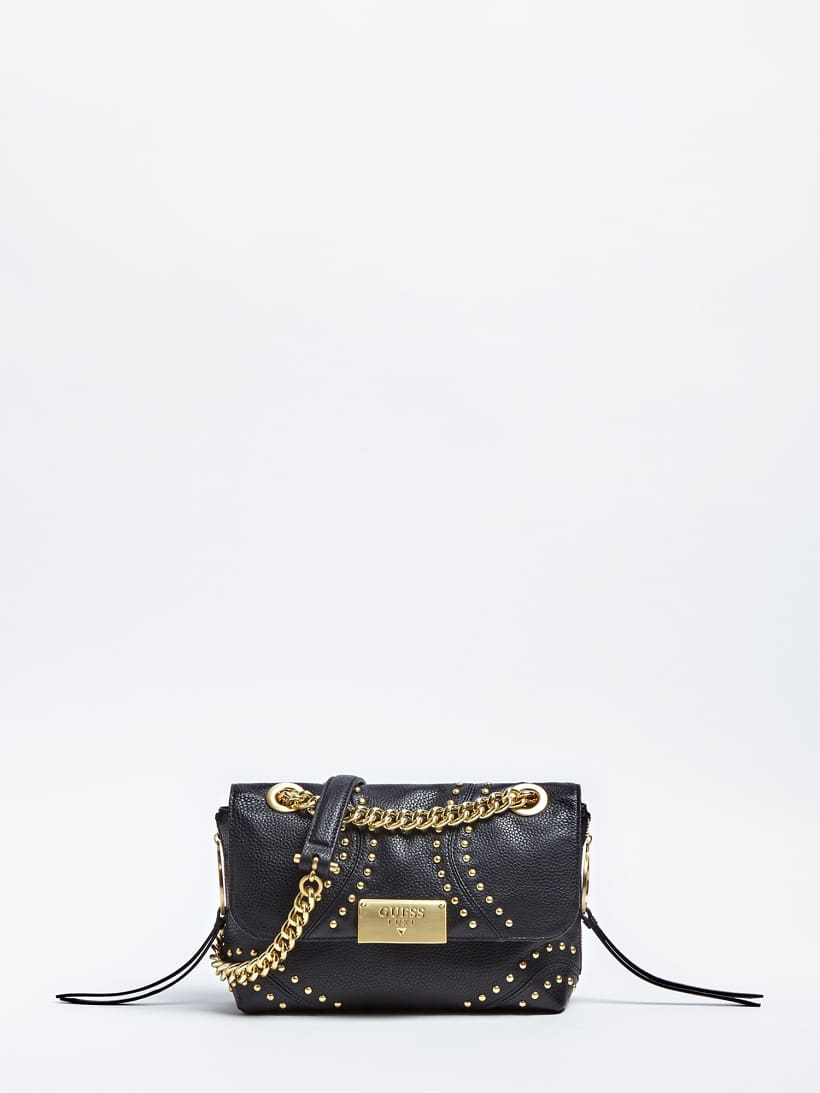 SAC A BANDOULIERE VICKY CUIR CLOUS