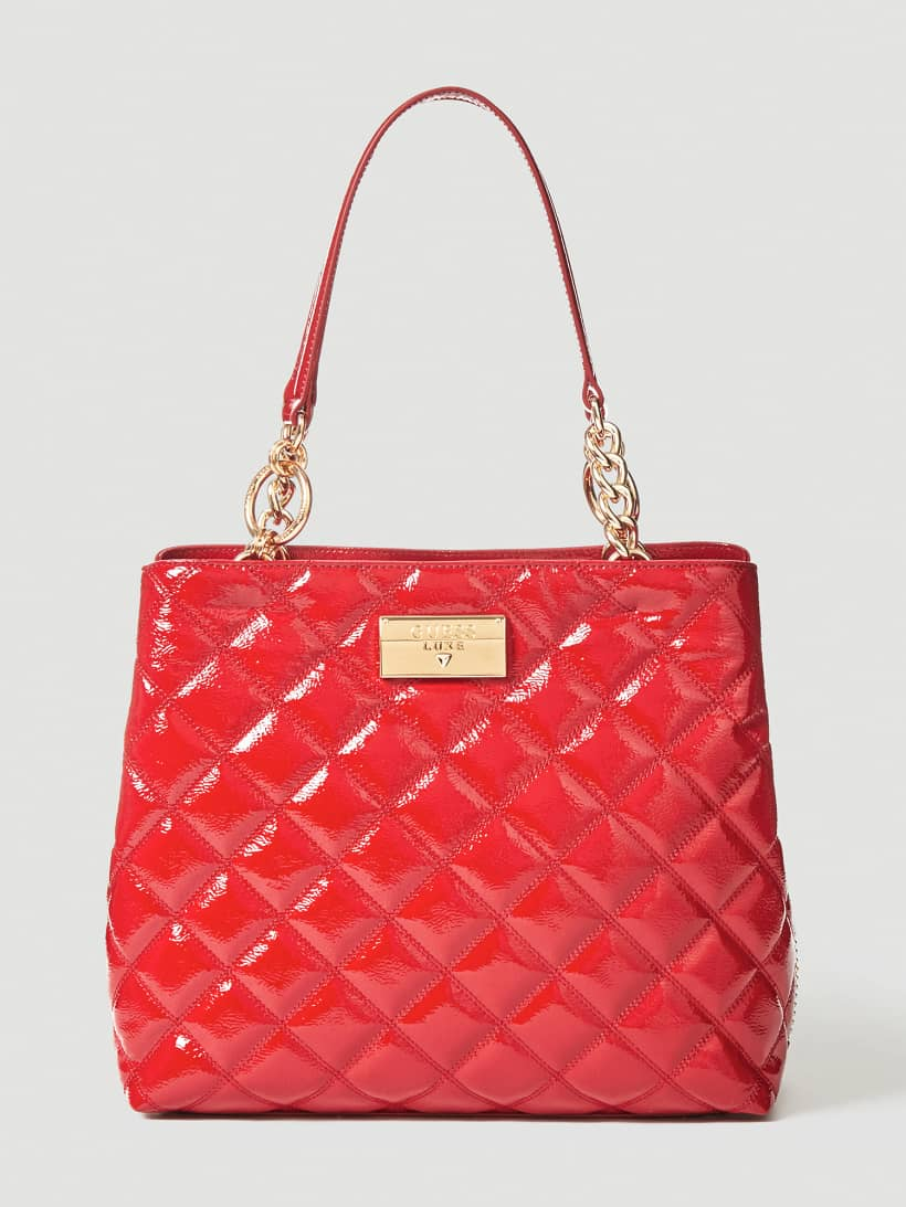 sac guess luxe vernis