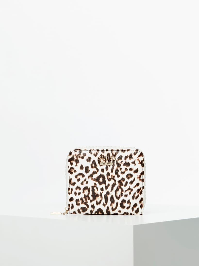 Guess Geldbörse Lorenna Animal Print SWLG7671370 LEO