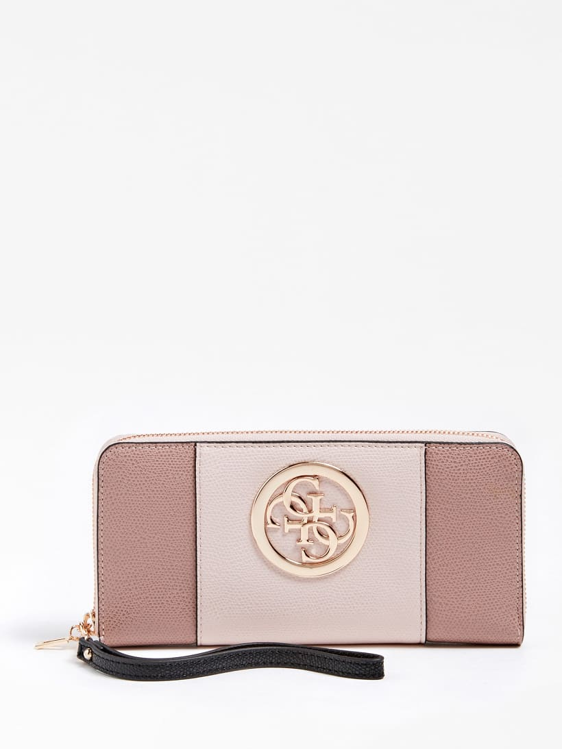 Guess Clutch Tasche Geldbeutel gold rose neu