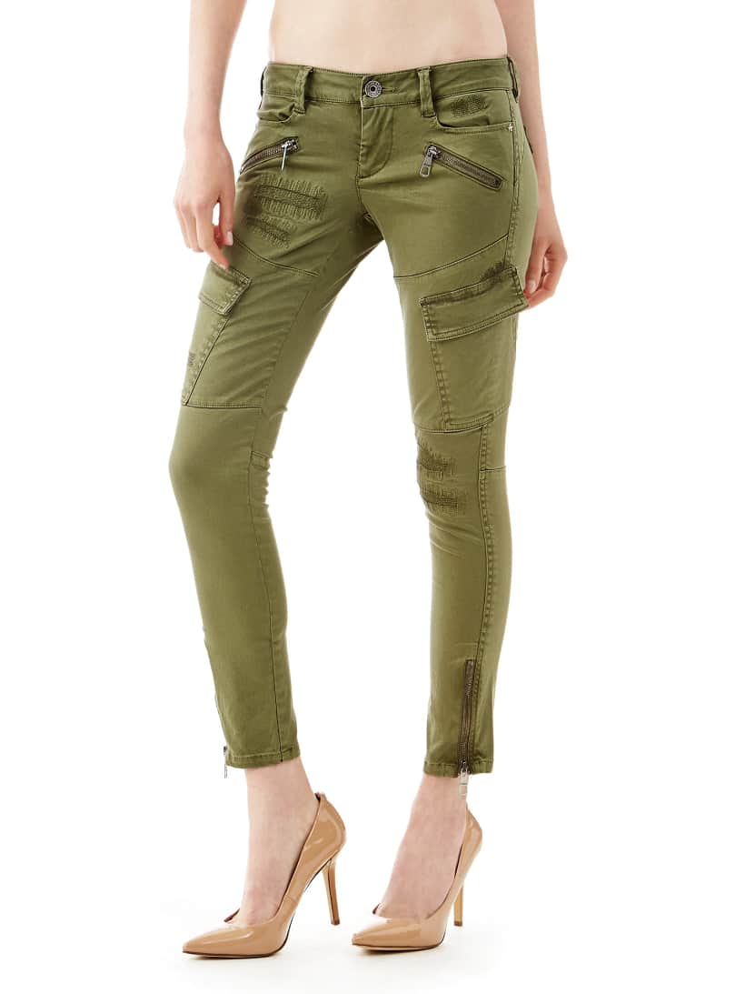 Military Style Cargo Pants Guess Eu