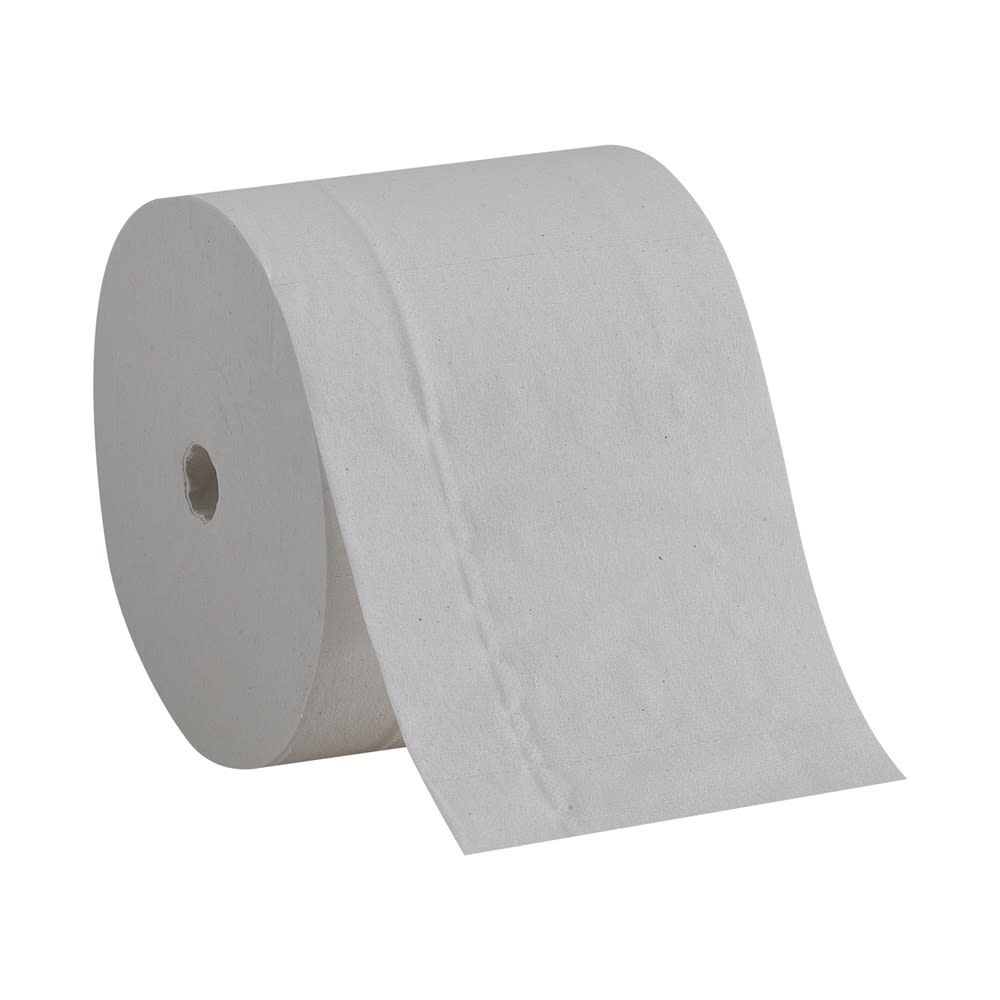 Compact® Coreless 2-Ply Recycled Toilet Paper by GP PRO, 1000 Sheets Per Roll