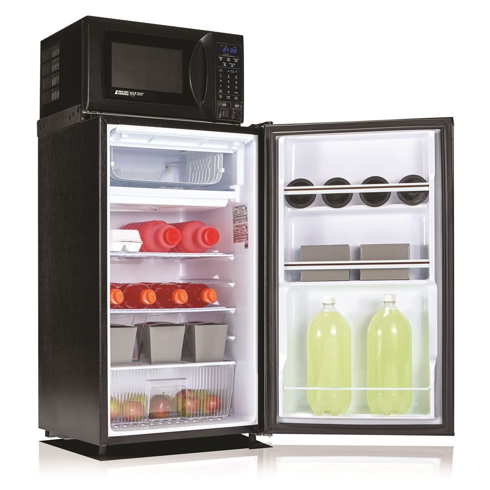 MicroFridge® Combo Refrigerator and Microwave, 3.6 Cu Ft, Auto Defrost, 700 Watts, Black