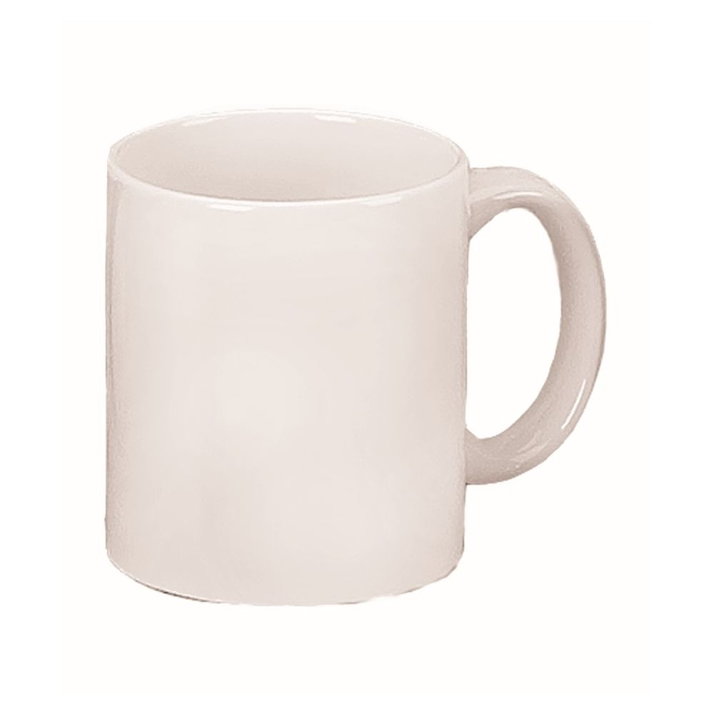 C-Handle Coffee Mug 11oz, White
