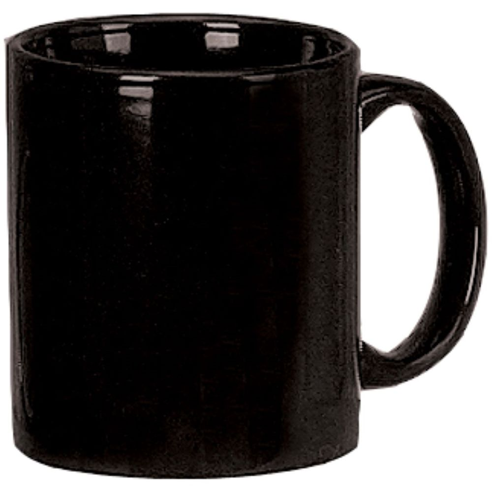 C-Handle Coffee Mug 11oz, Black