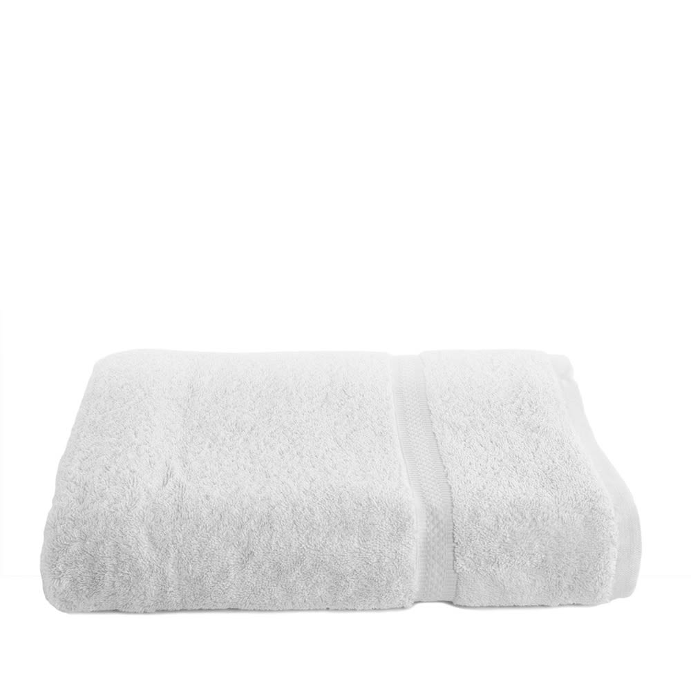 Brentwood Bath Towel, Cotton Dobby Border, 27x54, 15.0 lbs/dz, White