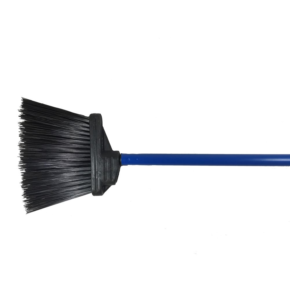 Better Brush® 48 Inch Lobby Broom Blue Handle, 5 Inch Trim Blue
