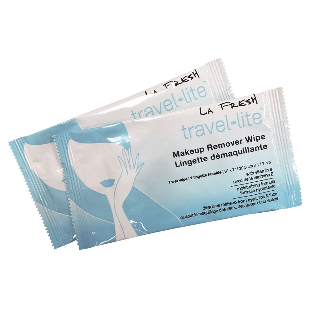 La Fresh® Make-Up Remover Wipes, Individually Wrapped