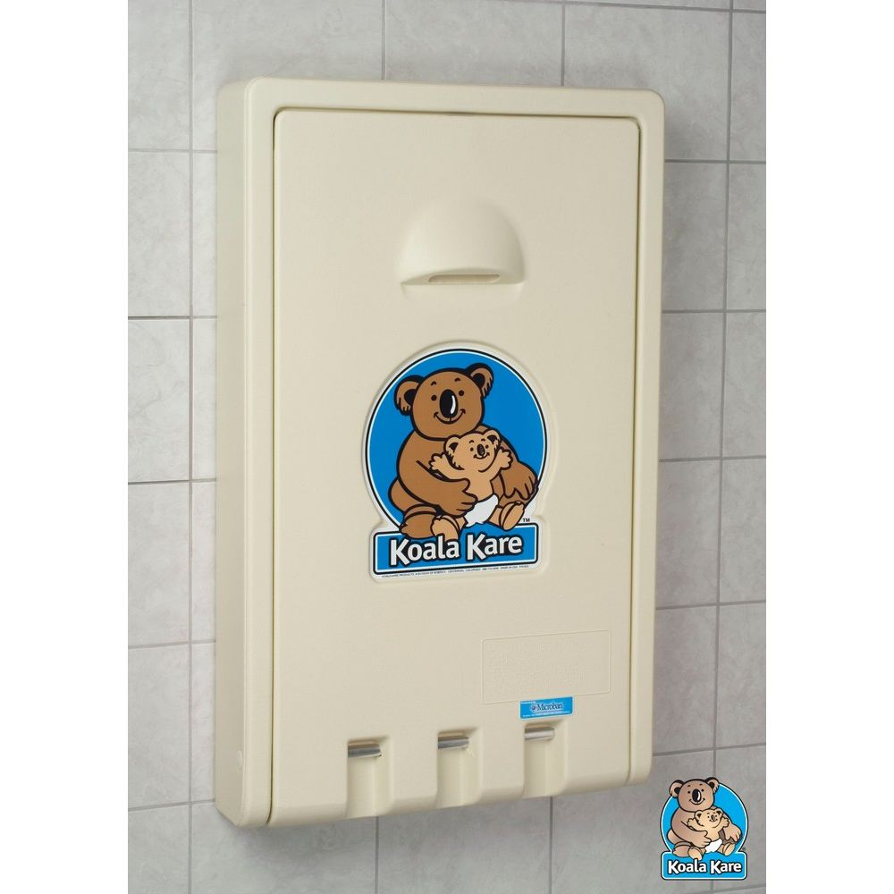 Koala Kare® Baby Changing Station, Vertical, Cream