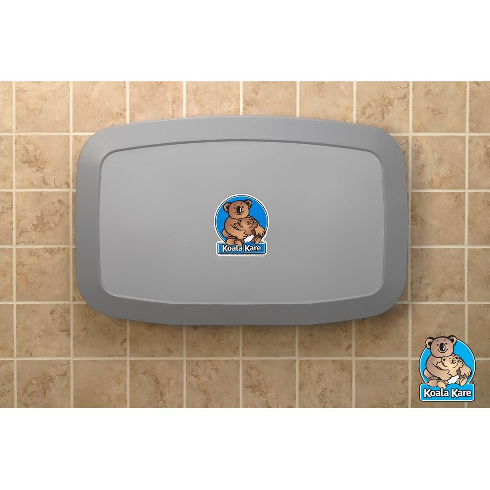 Koala Kare® Baby Changing Station, Horizontal, Gray