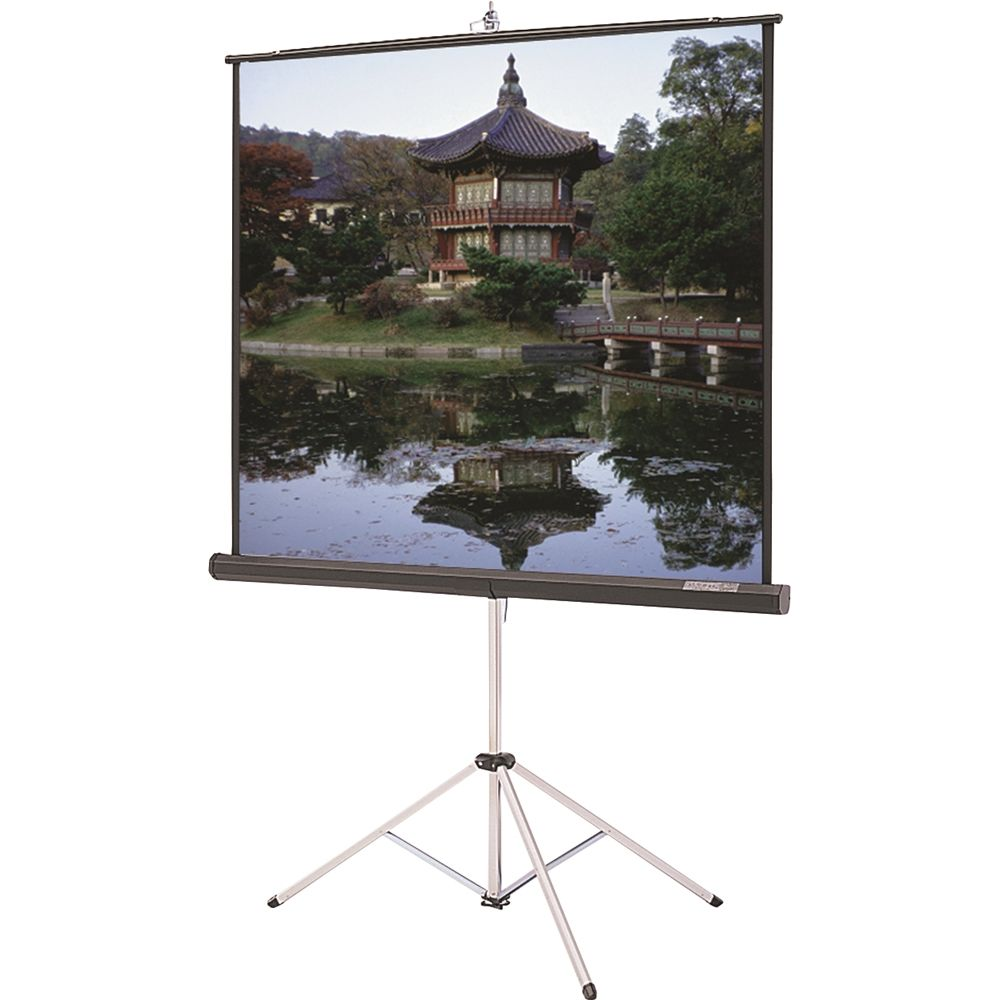 Tri-Pod Screen 70x70 White