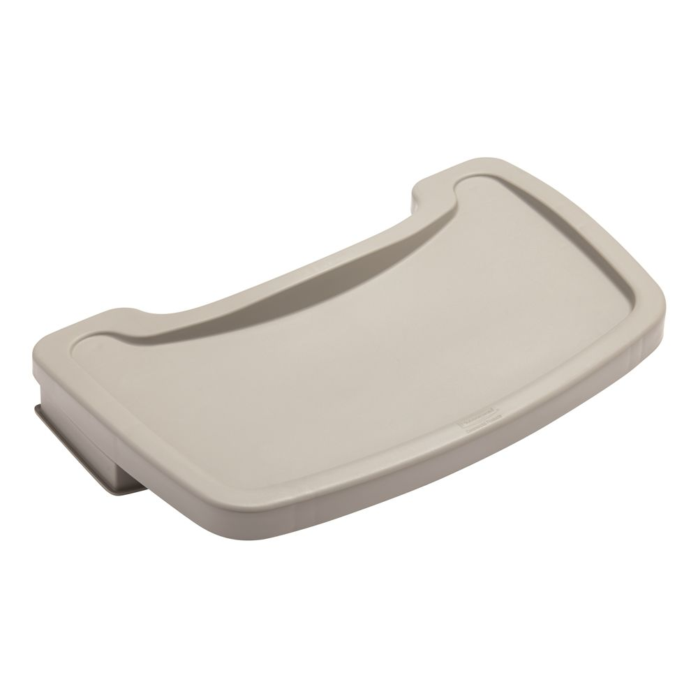 Rubbermaid Tray for Sturdy Chair Youth Seat Platinum
