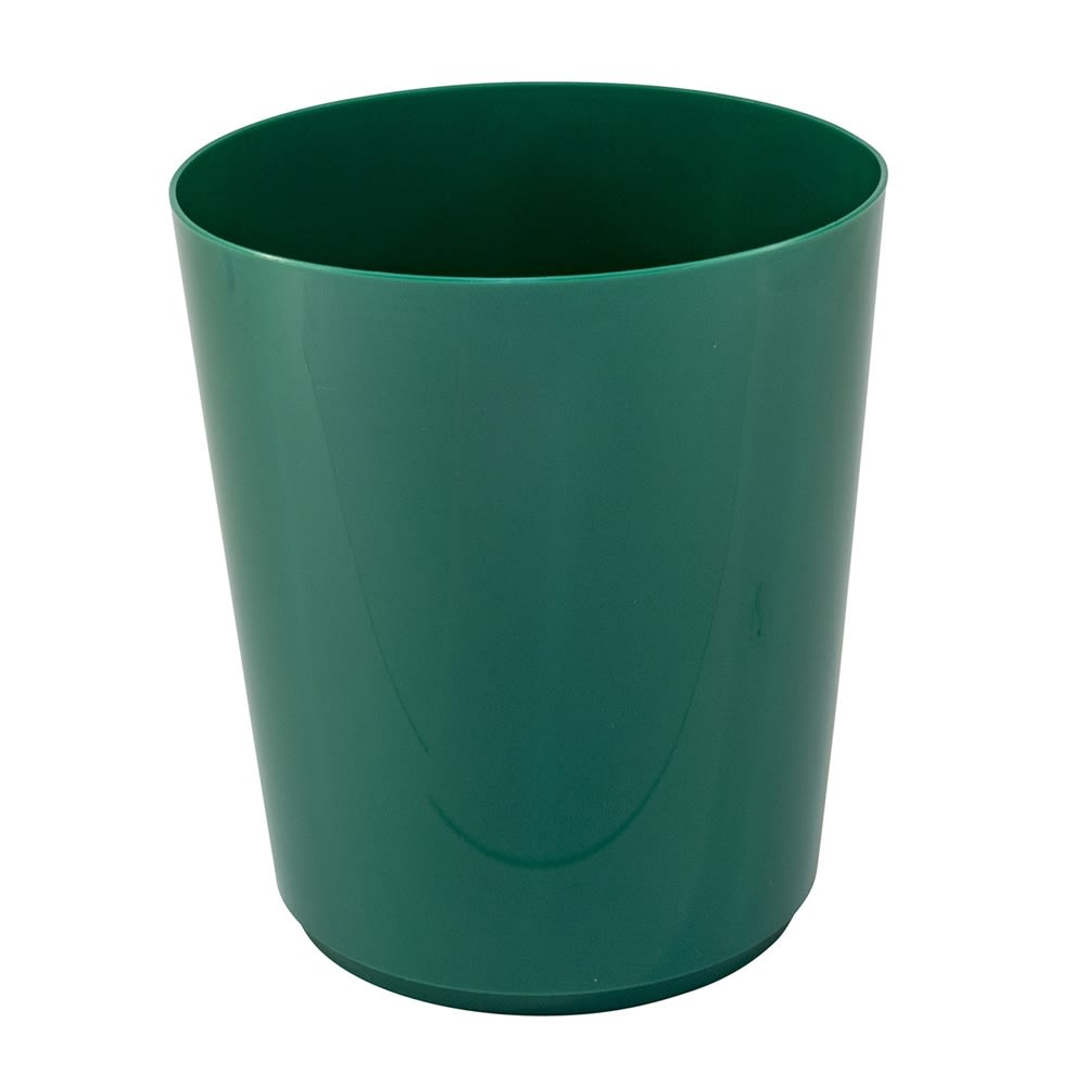 Essential Wastebasket, 14 Quart Round, Forest Green