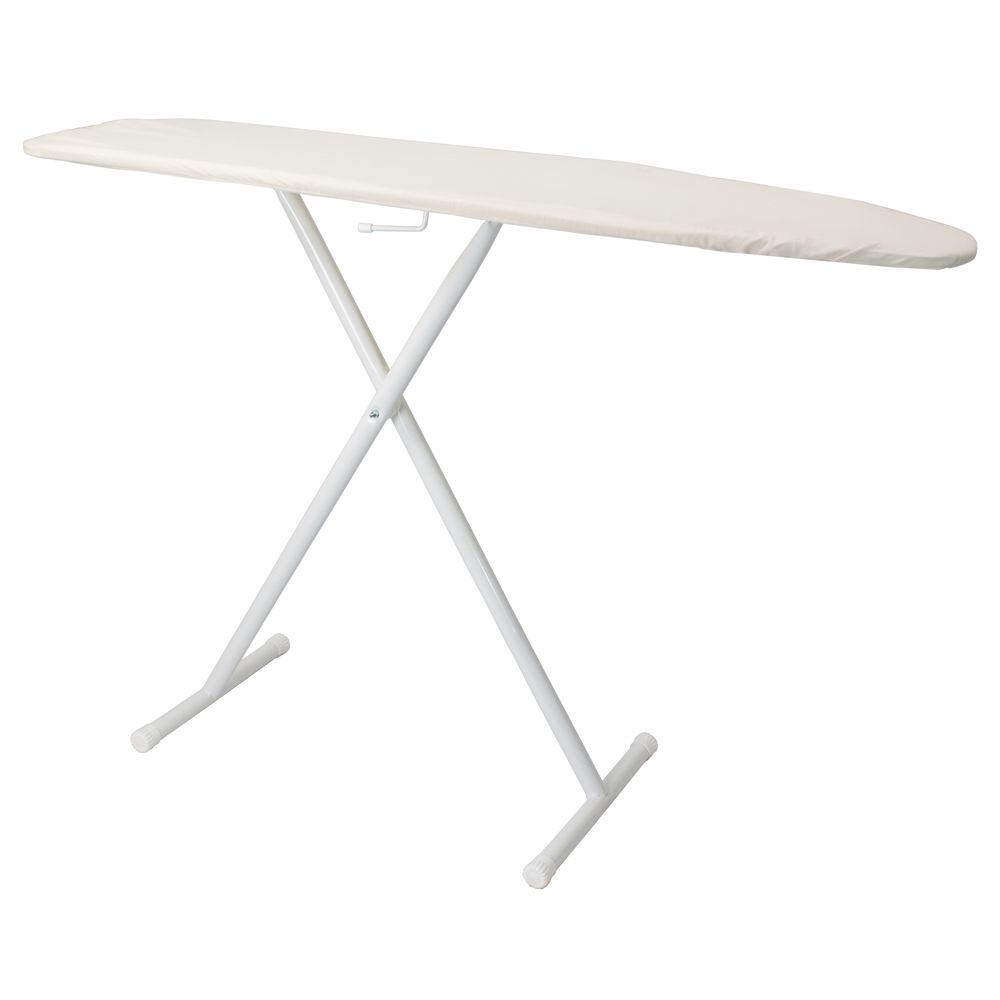 Hospitality 1 Source Full Size T-Leg Ironing Board, Khaki Pad and Cover