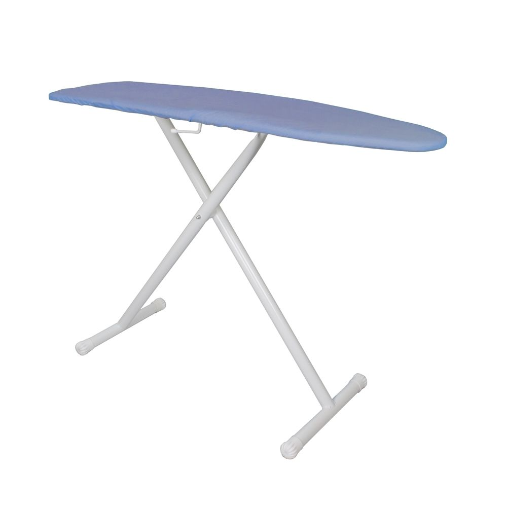 "Homz® Wardrobe Ironing Board, 48""x14"", Blue Pearl Cover"