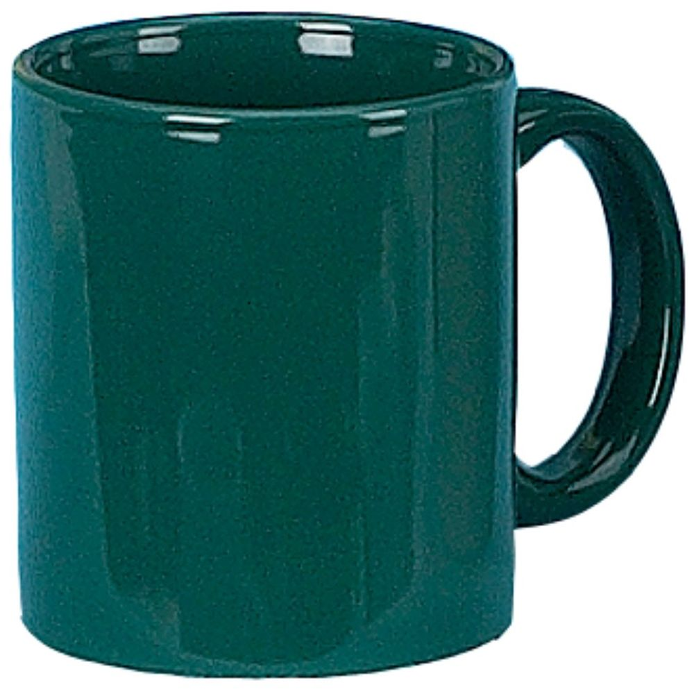 C-Handle Coffee Mug 11oz, Green