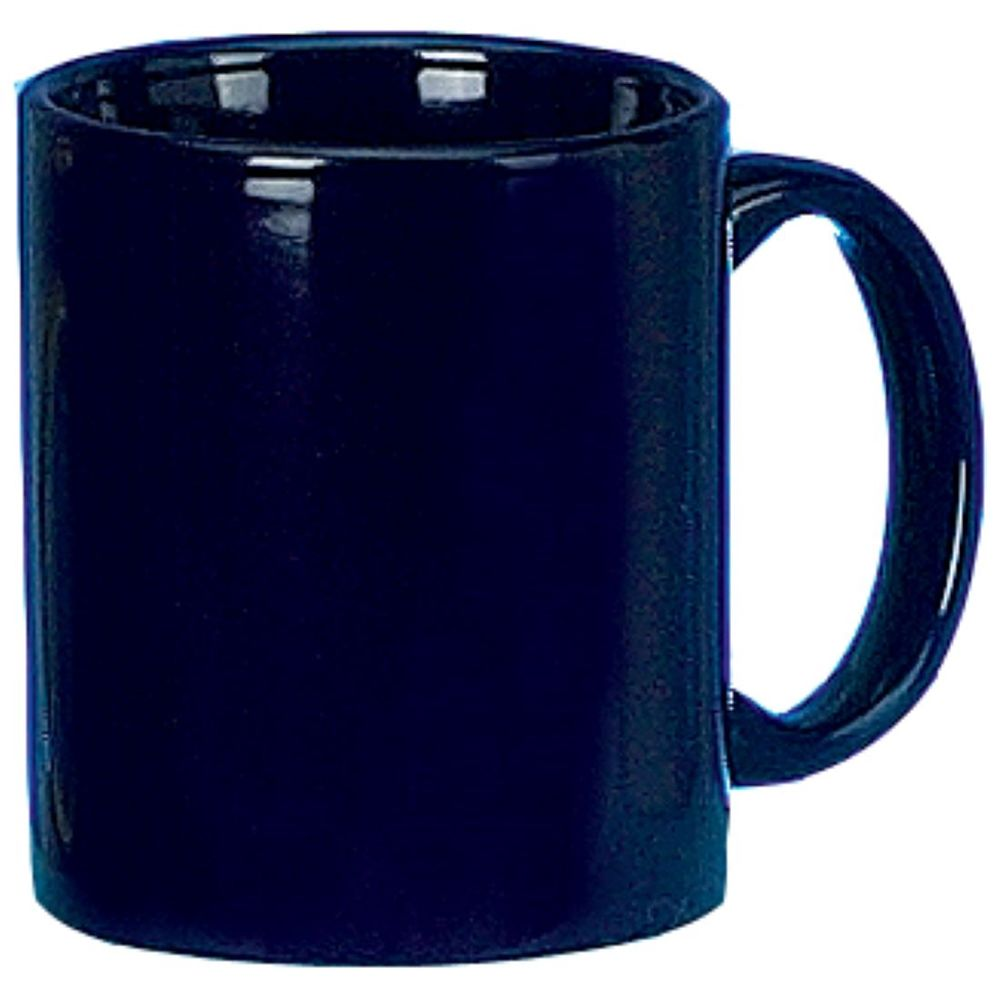 C-Handle Coffee Mug 11oz, Cobalt Blue