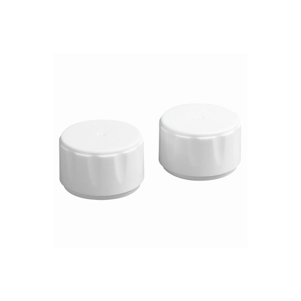 Homz® Ironing Board Leg Replacement Caps for 1-3/8in Leg, White
