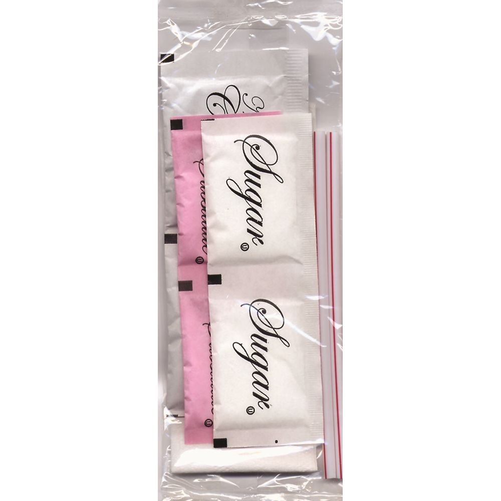Diplomat Coffee Condiment Kit, Clear Wrapper