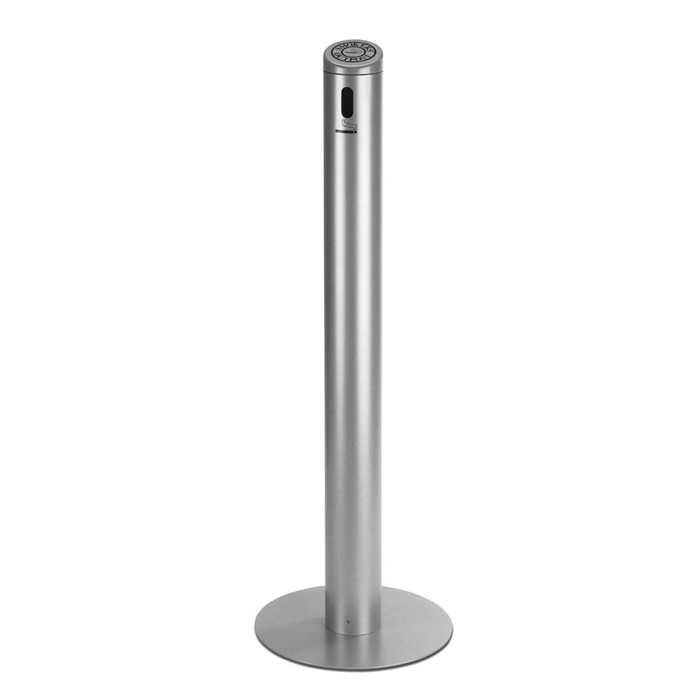 Commercial Zone® Smokers Outpost® Smoke Stand, 41H x14D Base, Silver