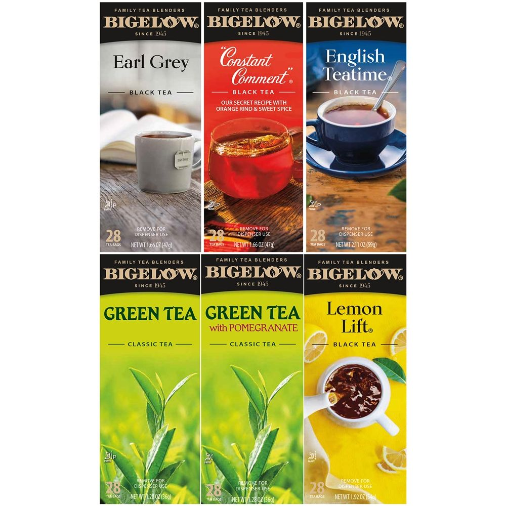 Bigelow® Flavor Tea Assortment, Individually Foil Wrapped