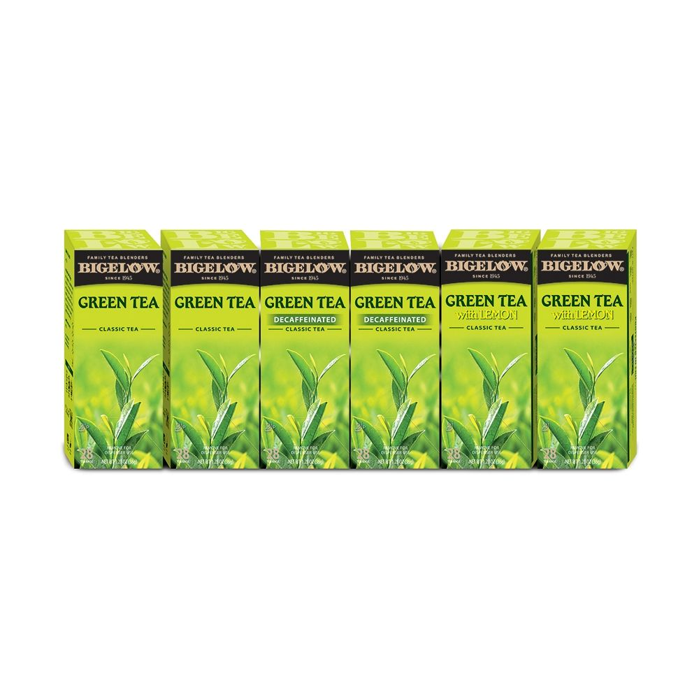 Bigelow® Green Tea Assortment, Individually Foil Wrapped