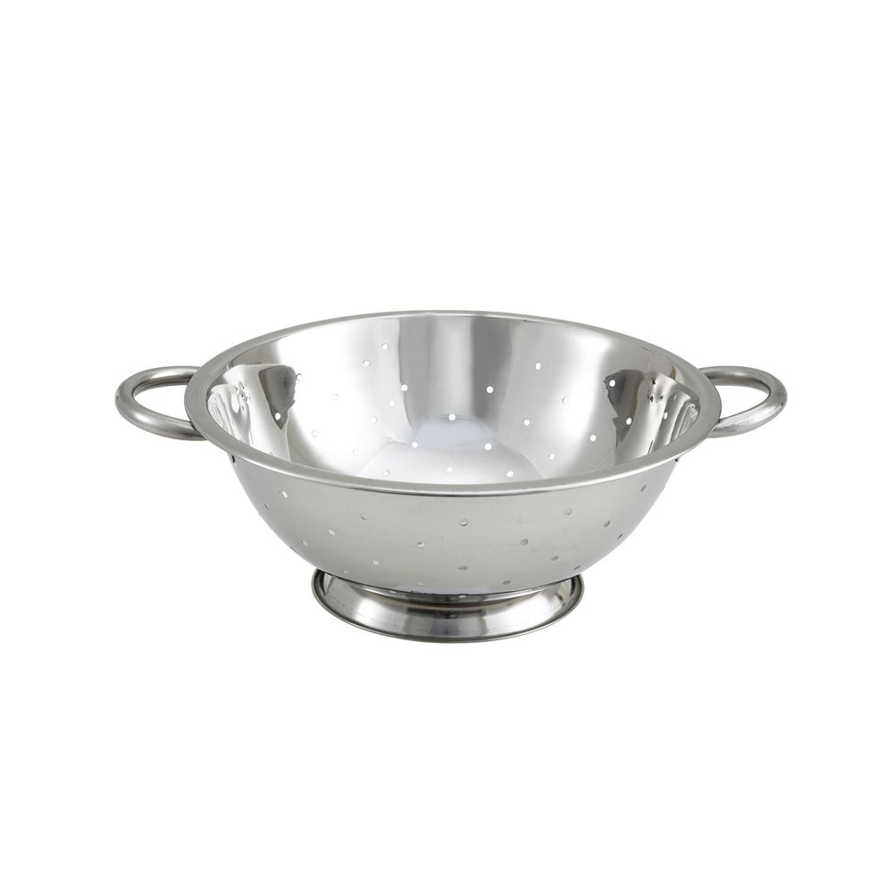 Colander, 3 Quart, Stainless Steel