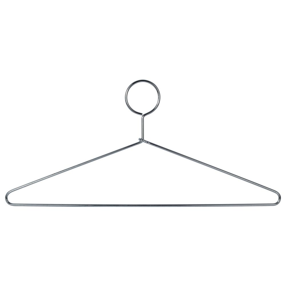 Ex-Cell Kaiser® Stainless Steel Hangers, Closed Loop, Chrome
