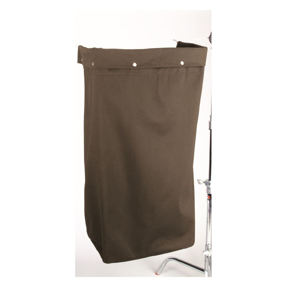 Federal Industrial Textile® Cloth Laundry Bag, Fold Over, 12 x 18 x 36, Brown