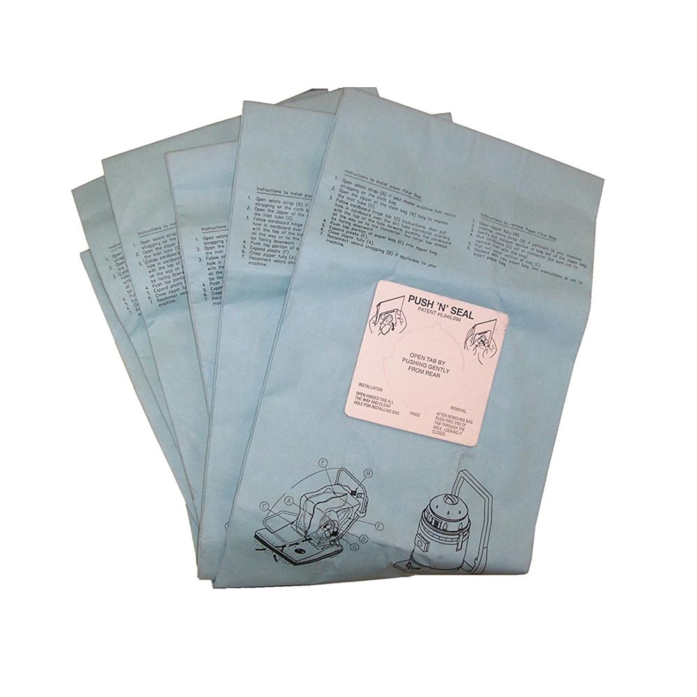 Bissell Commercial® Vacuum Bags for BG-CC28 and Comvac Wide Area Vacs, 5 Pack