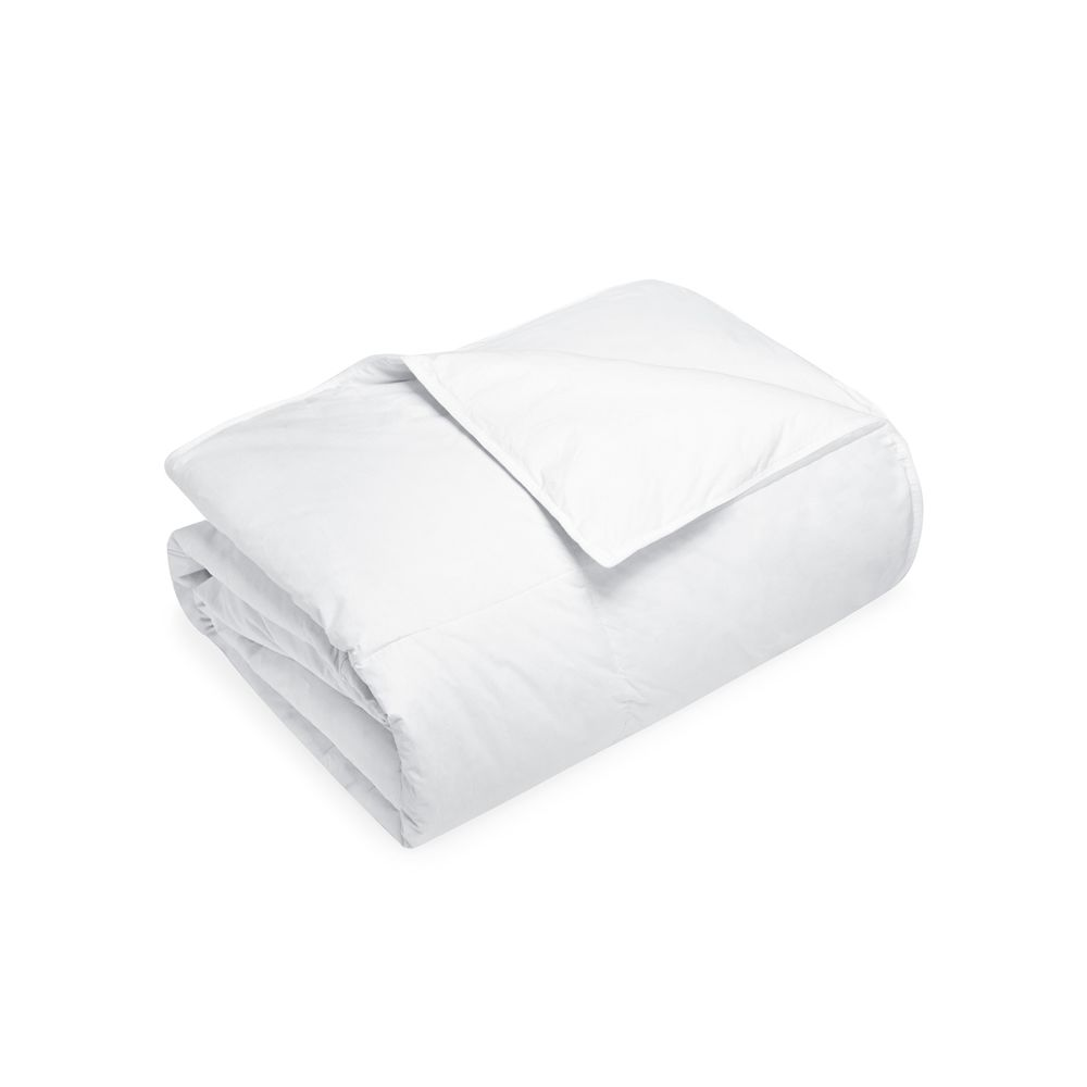 Asheville Comforter, Natural Down Fill 28 oz, T233 Cotton Shell, Full XL/Double XL 86x98, White