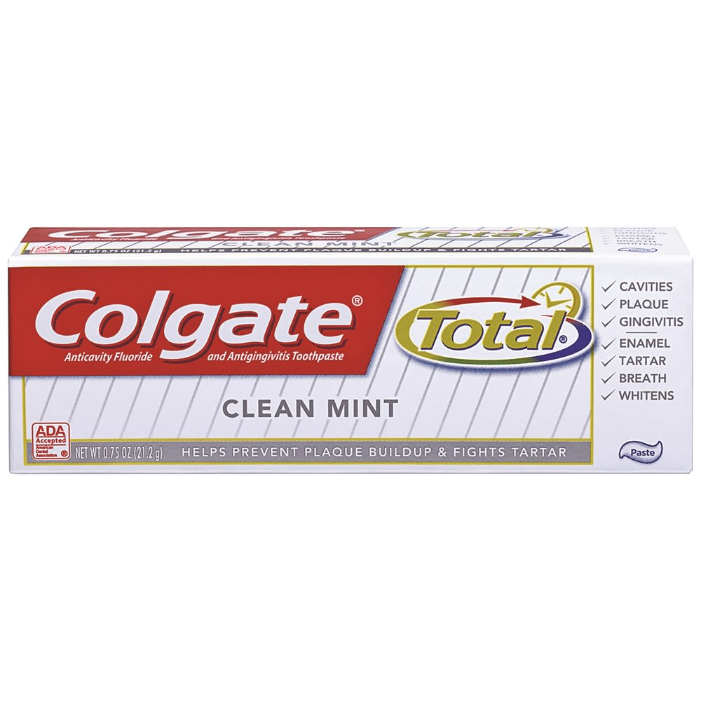 Colgate Total® Clean Mint Toothpaste 0.88oz