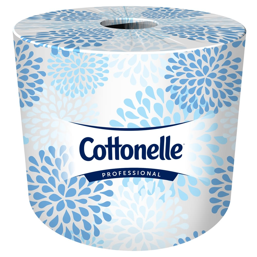 Cottonelle® 2-Ply Toilet Paper, 4.09in x 4.0in, 451 Sheets / 60 Rolls
