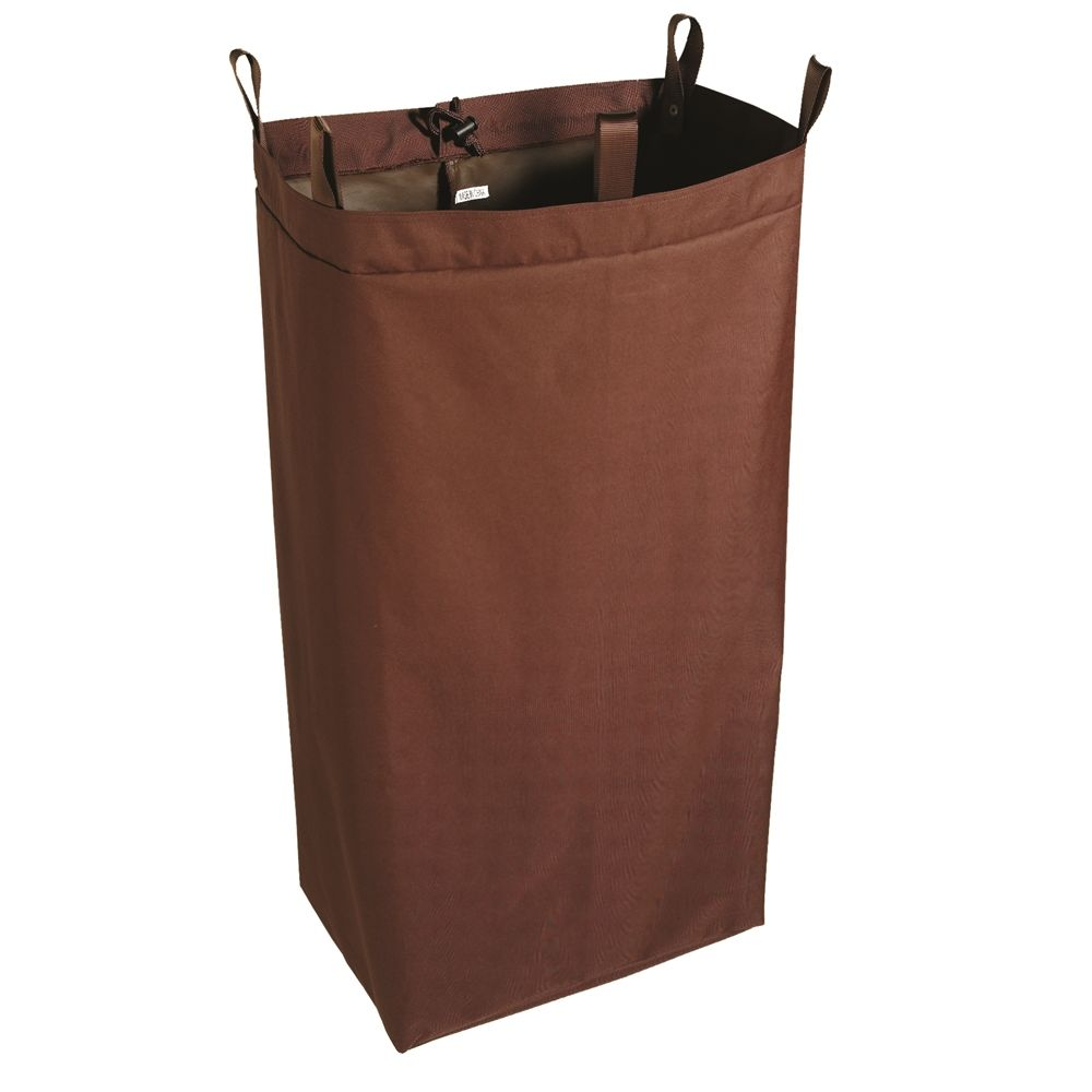 Hospitality 1 Source® XDuty® Housekeeping Cart Bag Loop & Snap, 12x18x36, Brown