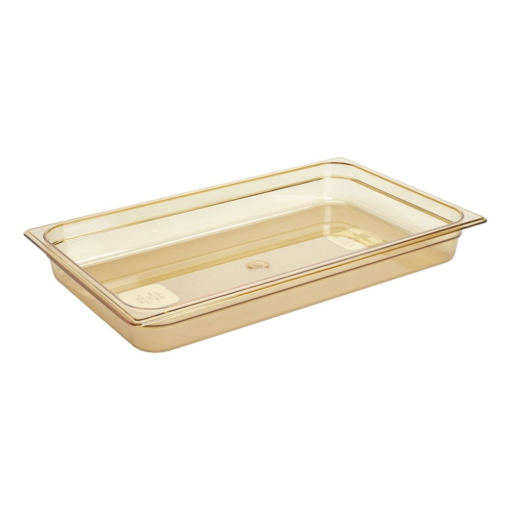Rubbermaid® Hot Food Pan, Full Size, Amber